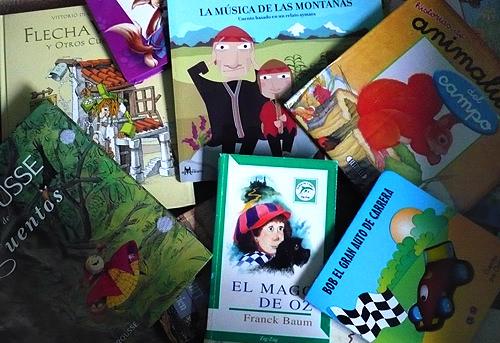 Donación de libros para niños 1