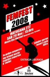 FemFest: bandas de mujeres, gratis en la Quinta Normal 1