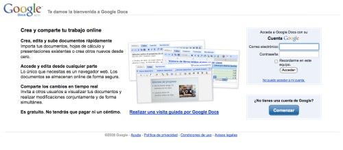 Google Docs: trabajar juntos pero separados 1