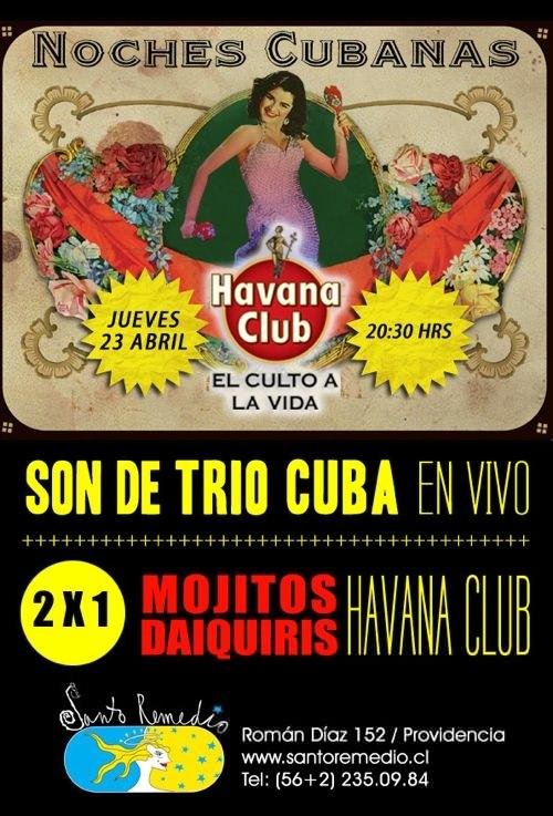 Noches Cubanas 23Abril