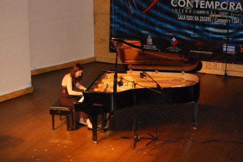 Pianista María Paz Santibáñez en show gratis 1