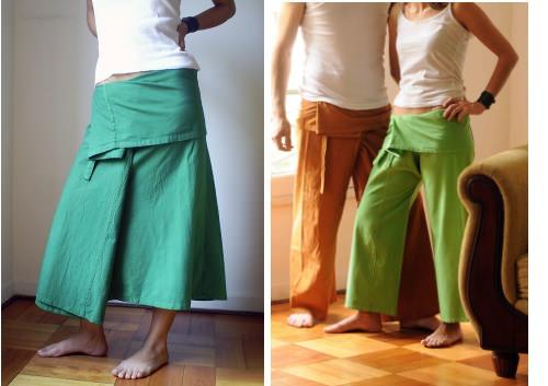 Faldas y pantalones thai 5