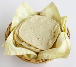 Técnica fácil para calentar tortillas 1