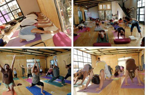 Maratón de yoga a luca en enero y febrero 1