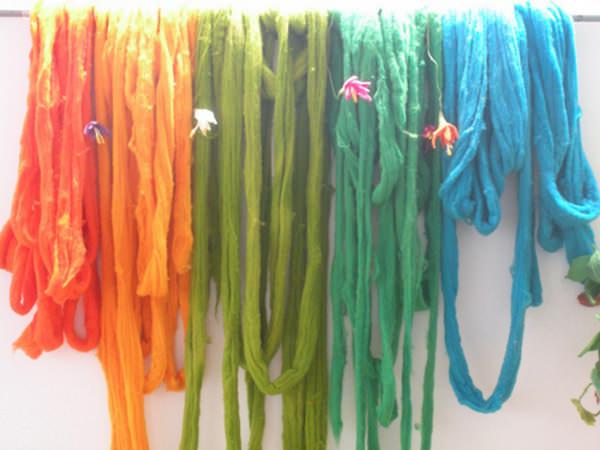 Taller: teñido de lana 1
