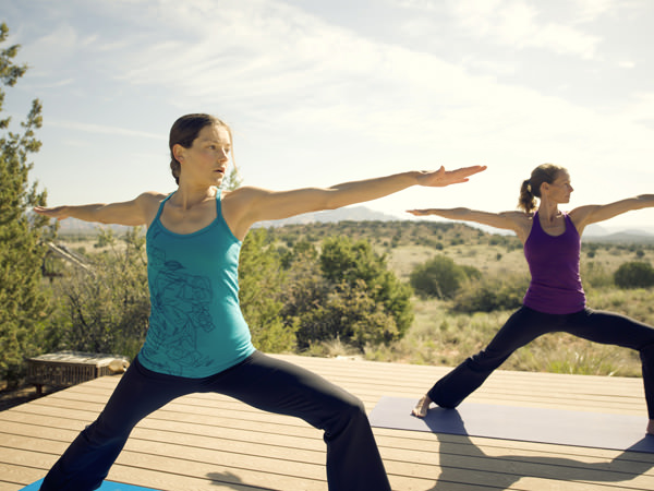 Yoga con The North Face 1
