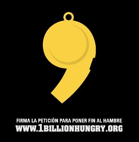 Campaña: Mil millones de personas sufren de hambre crónica y eso me enfurece 1
