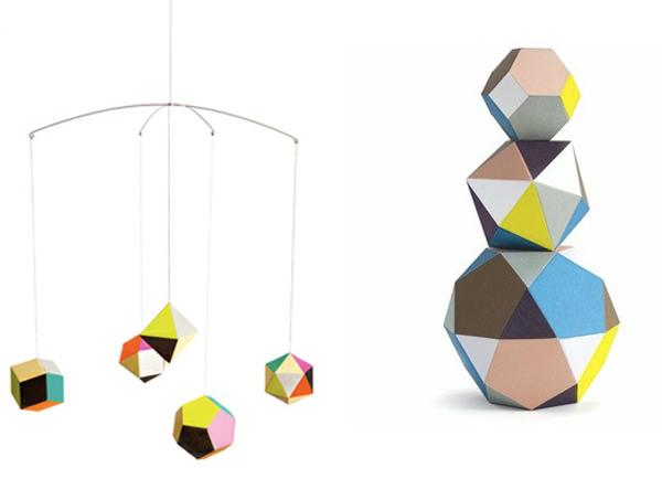 Objeto de deseo: móviles geométricos 1