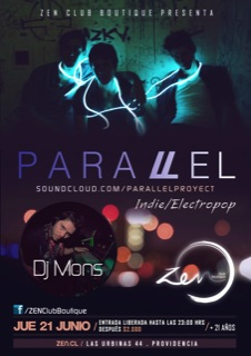 Parallel en vivo en Club Zen 1