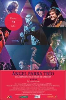 Celebración de los 20 años de Ángel Parra Trío 1