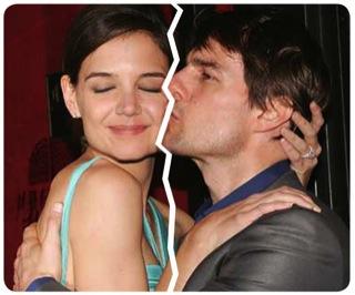 Katie Holmes y Tom Cruise se divorcian 1