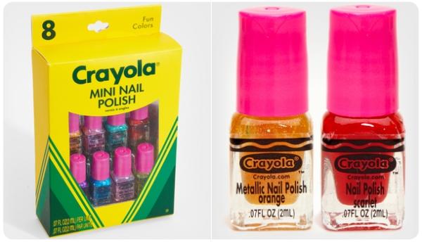 Mini esmaltes de uñas Crayola 1