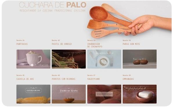 Cuchara de Palo: lindos videos y recetas chilenas 1