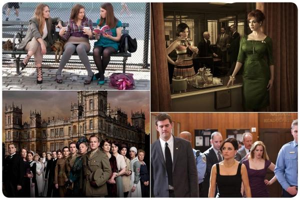 Downton Abbey, Girls y Veep en las nominaciones a los Emmy 1