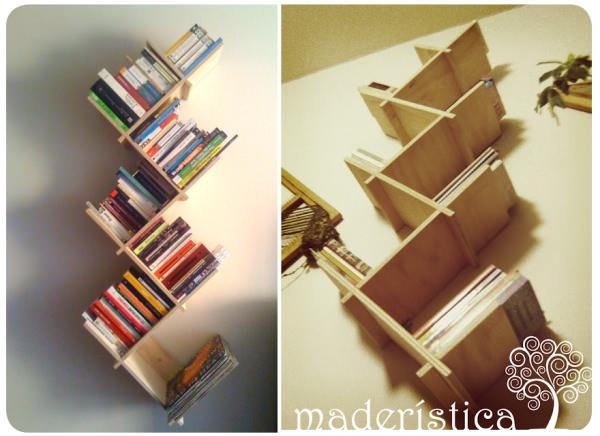 Los hermosos libreros de Maderística 1