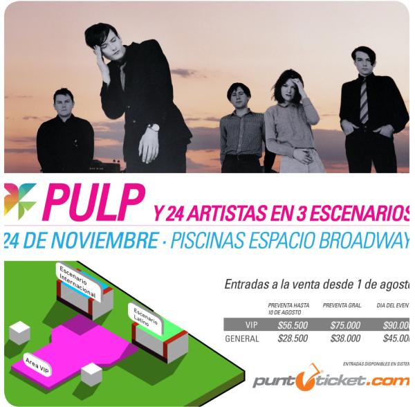 Primavera Fauna 2012: Pulp, Corazones, venta de entradas y horarios 1