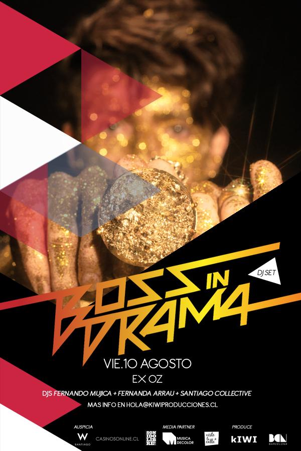 Boss in Drama (BRA) Tour en Chile 1