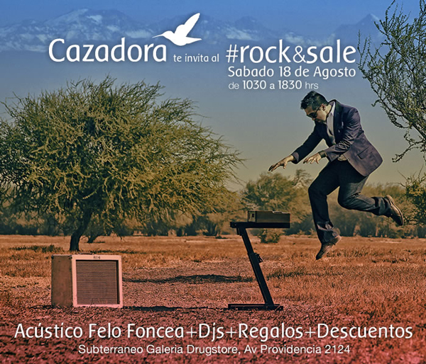 Rock&Sale en Tienda Cazadora 1