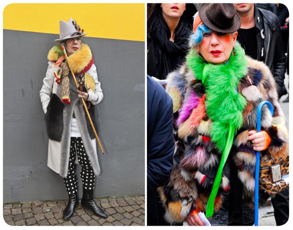 R.I.P. Anna Piaggi (1931-2012): Una visionaria de la moda 1