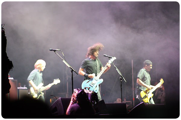 Foo Fighters para por un tiempo 1