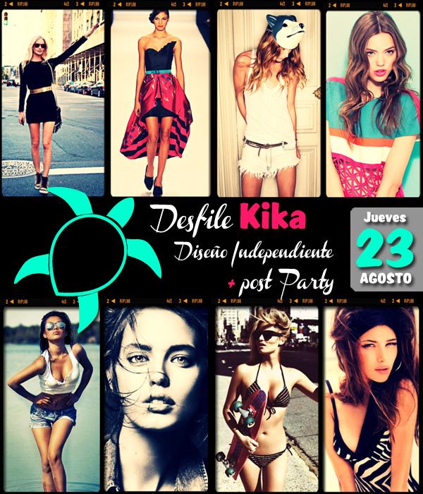 Desfile KIKA Fashionight + Post Party 1