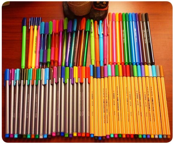 Objeto de deseo: lápices de tinta/pasta de colores 3