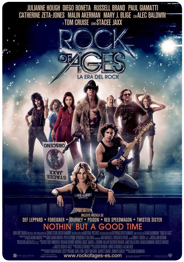 Rock of Ages y Tom Cruise con delineador 1