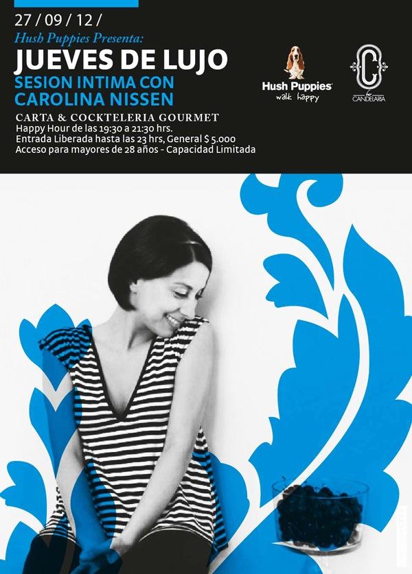 Hush Puppies te invita a Sesión Íntima con Carolina Nissen 1