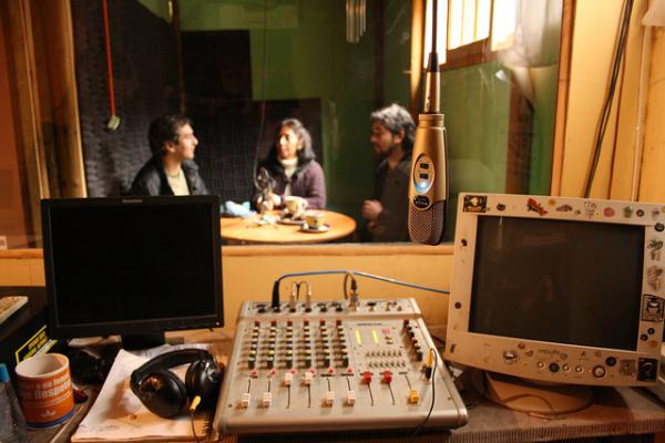 Radio: transmitiendo desde Las Cabras 3