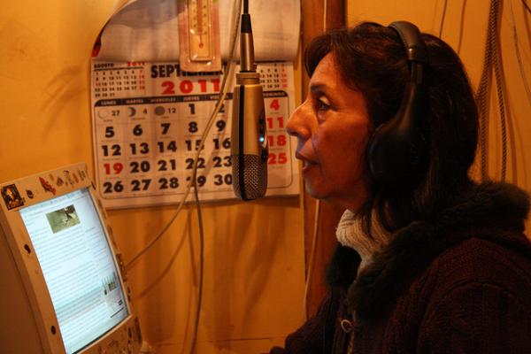 Radio: transmitiendo desde Las Cabras 5