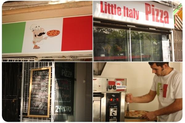 little italy pizza un verdadero slice zancada lo que conversas con amigas. Black Bedroom Furniture Sets. Home Design Ideas