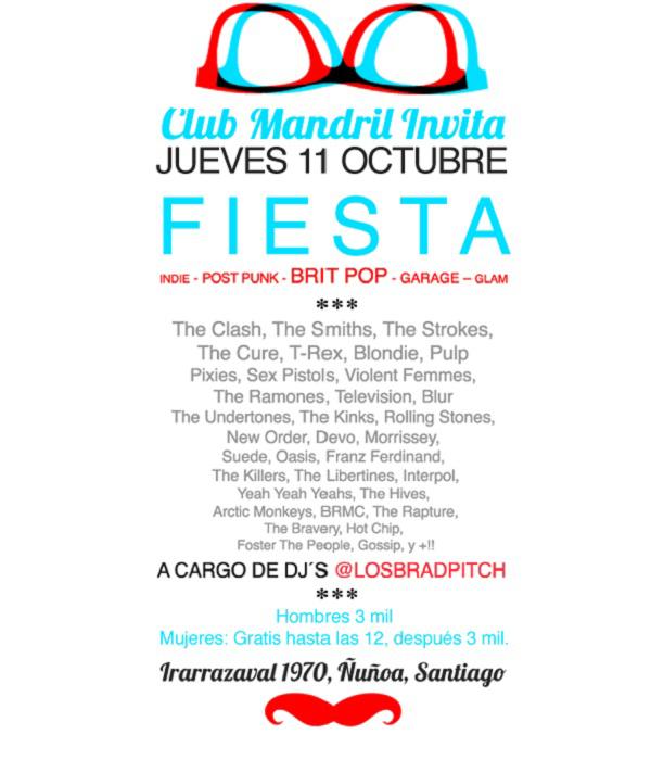 Fiesta en Club mandril 1