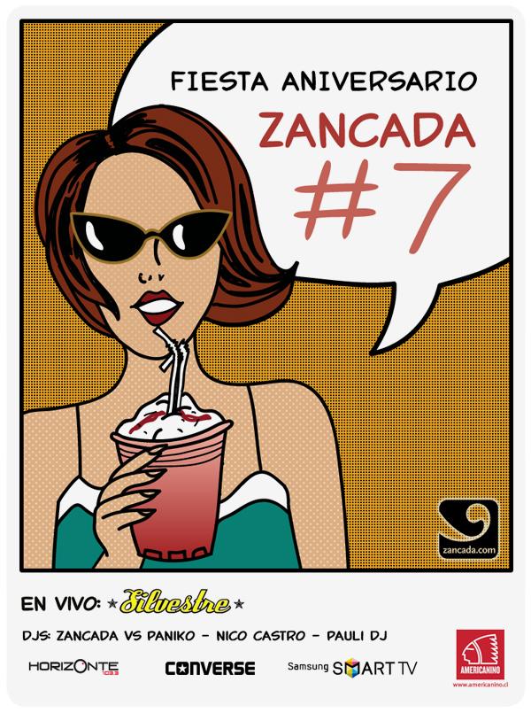 Esta semana es la fiesta Zancada #7! 1