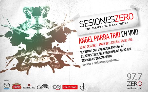 Sesiones Zero: Ángel Parra Trío 1