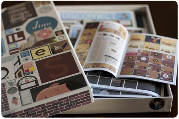 El libro Building Stories 1