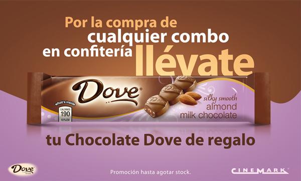 Chocolate Dove y Cinemark en el día del cine 1