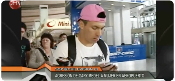 """La """"agresión"""" de Gary Medel y el """"periodismo"""" de farándula 1"""