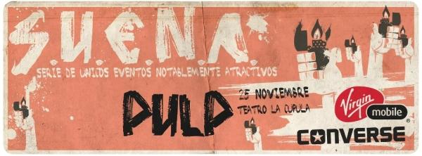 Pulp en Chile: segundo concierto en el Teatro la Cúpula! 1