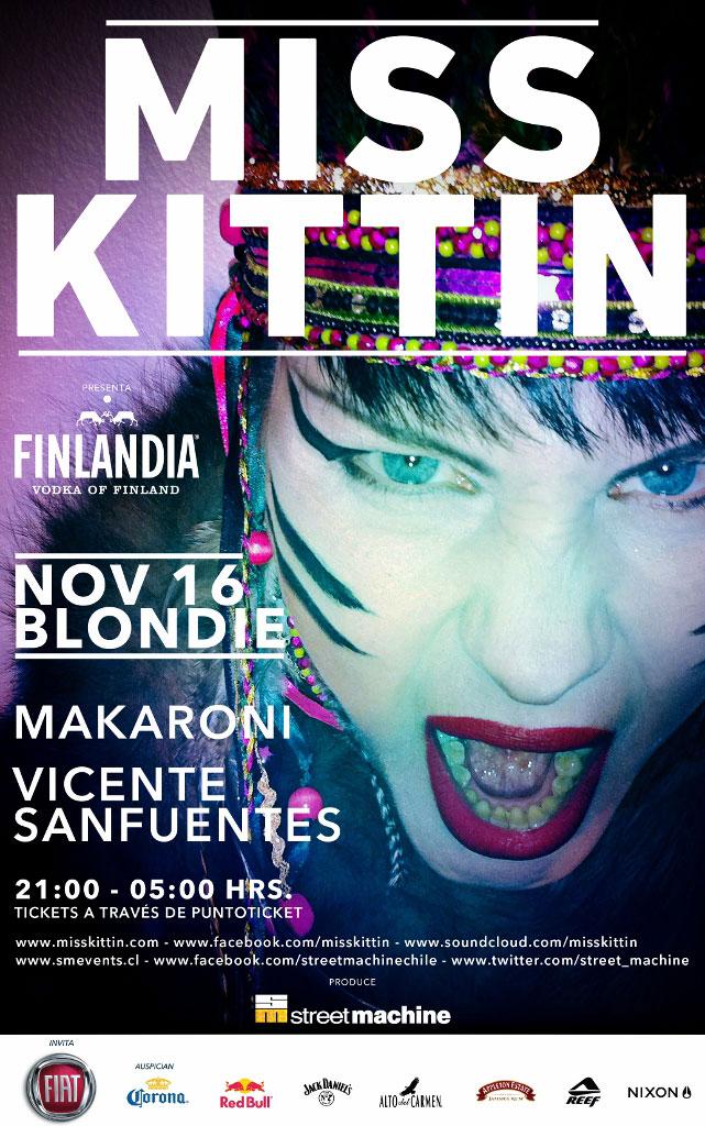 Miss Kittin en la Blondie 1