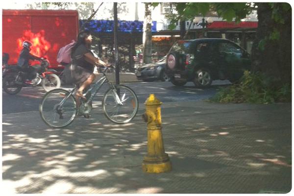 Quiero ciclovías para recuperar las veredas 1