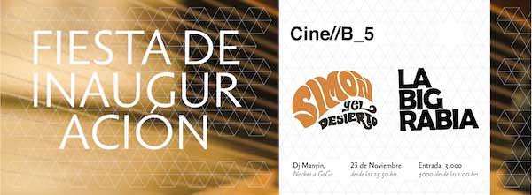 Fiesta Inauguración Festival de Cine B 3