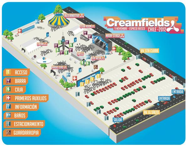 Concurso Creamfields 2012! Se viene la 9º versión 2