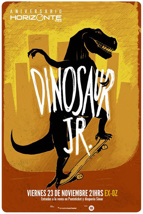 Dinosaur Jr. tiene side show! 1