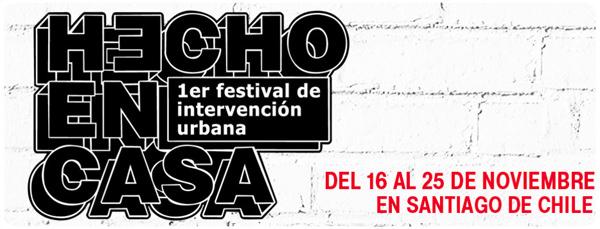 Hecho en Casa, festival de intervención urbana 1