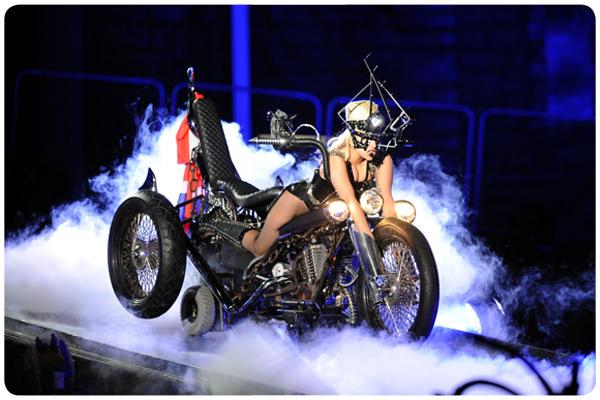 Lady Gaga en Chile: The Born This Way Ball tour 1