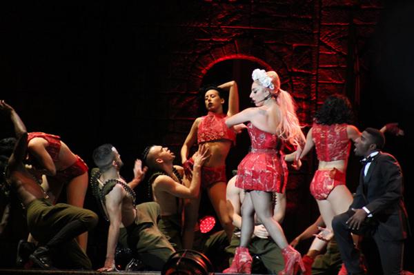 Lady Gaga en Chile: The Born This Way Ball tour 2