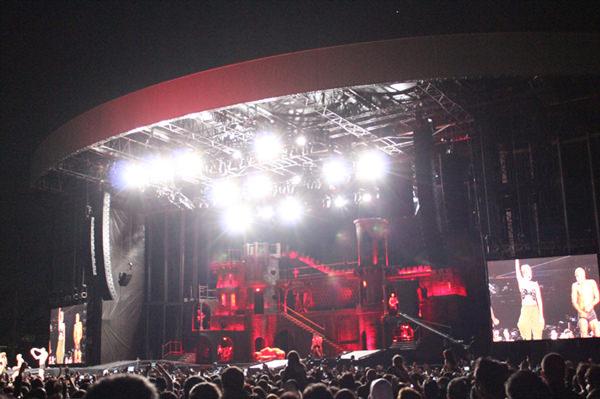 Lady Gaga en Chile: The Born This Way Ball tour 5