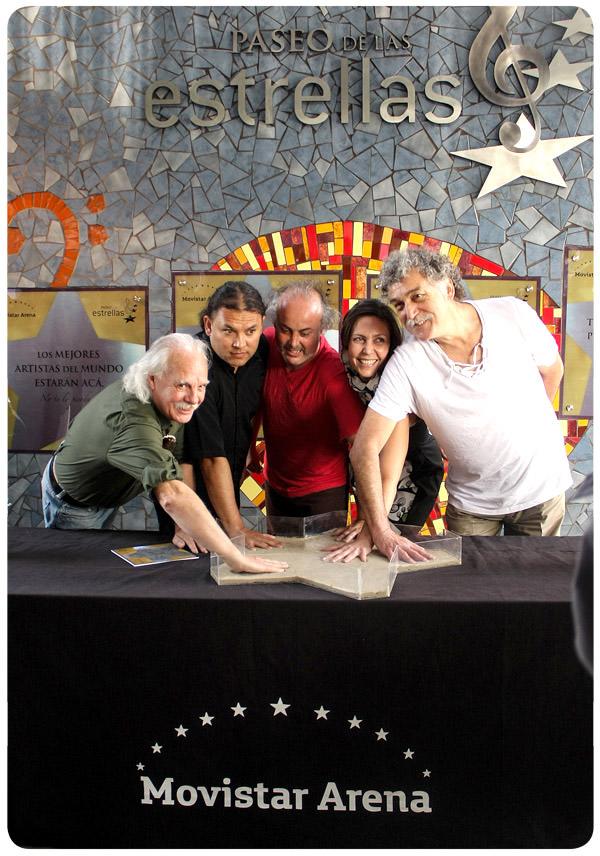 Paseo de las estrellas en Movistar Arena 1