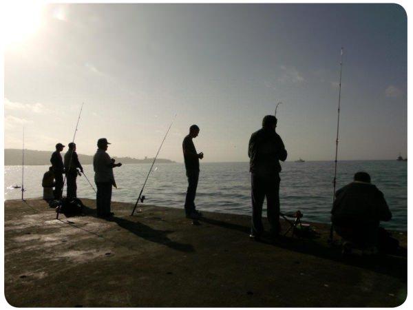 Álbum Zancada: pescando en Valparaíso al atardecer 1