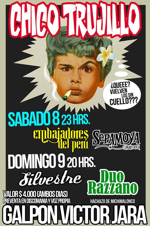 Silvestre & Chico Trujillo en vivo 3